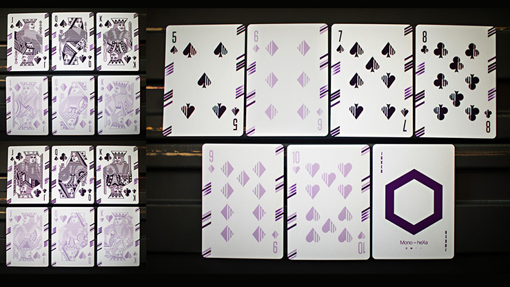 Mono-heXa Playing Cards