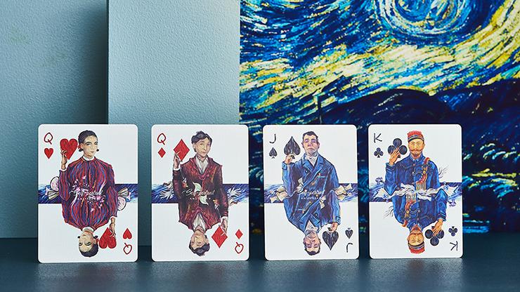 Van Gogh (Self-Portrait) Playing Cards