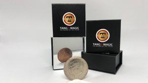 Copper Silver Coin (Half Dollar/English Penny) (D0060) by Tango