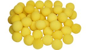1.5 inch Super Soft Sponge Balls (Yellow) Bag of 50 from Magic By Gosh