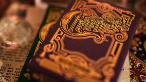 Charmers (Purple) Playing Cads By Kellar and Lotrek
