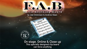 FAB BOARD A4/RED by Joel Dickinson & Andrew Dean