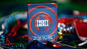 Marvelous Red Twenty Twenty Playing Cards