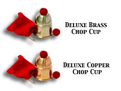 Chop Cup- Bazar Magic (Copper) by Bazar de Magia