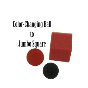 Color Changing Ball to Jumbo Square by Magic By Gosh