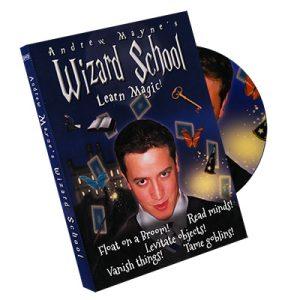Wizard School by Andrew Mayne - DVD