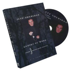 Jeff Sheridan Genius at Work Volume 3 Original Magic DVD