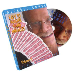 Easy To Master Card Miracles Volume 8 by Michael Ammar - DVD