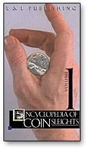 Ency of Coin Sleights Michael Rubinstein- #1, DVD