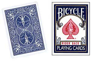 Blue One Way Forcing Deck (as)