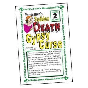 Ron Bauer Series: #2 - Sudden Death Gypsy Curse - Book