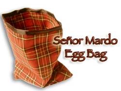 Senor Mardo (Red) Eggbag Martin Lewis