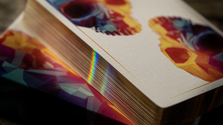 Limited Edition Gilded Memento Mori Genesis Playing Cards