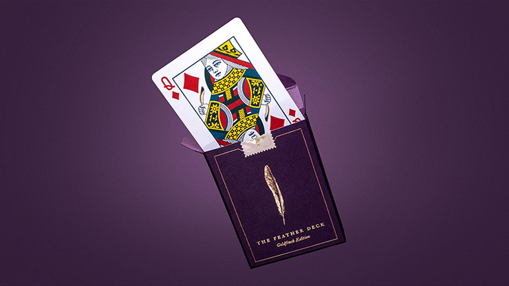 Feather Deck: Goldfinch Edition (Gold) by Joshua Jay