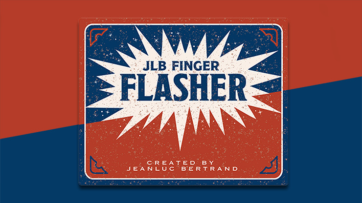 FINGER FLASHER by Jean-Luc Bertrand