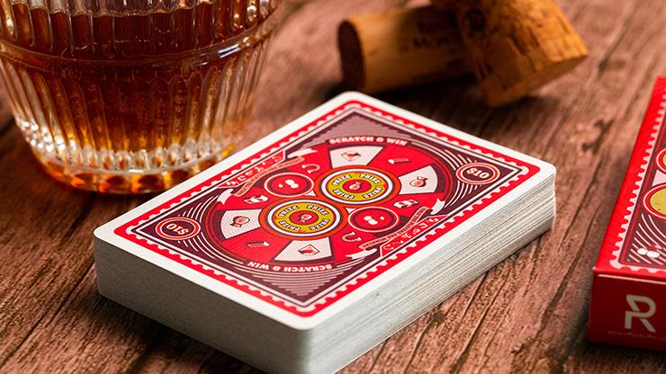 Scratch & Win Playing Cards by Riffle Shuffle