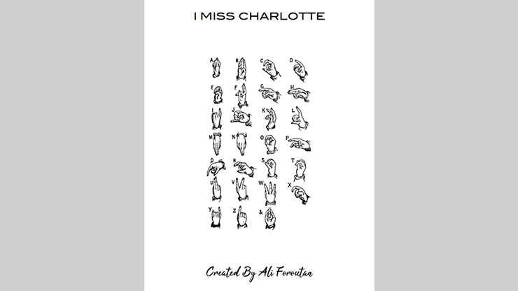 I MISS CHARLOTTE by Ali Foroutan ebook DOWNLOAD - Download