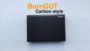 BURNOUT 2.0 CARBON BLACK by Victor Voitko (Gimmick and Online Instructions)