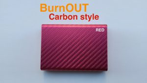 BURNOUT 2.0 CARBON RED by Victor Voitko (Gimmick and Online Instructions)