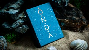 ONDA Aquamarine Playing Cards by JOCU