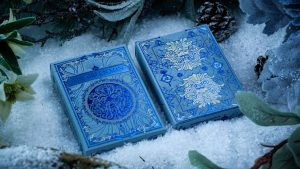 The Green Man Playing Cards (Winter) by Jocu