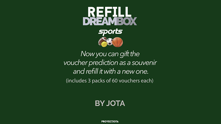 DREAM BOX SPORTS GIVEAWAY / REFILL by JOTA