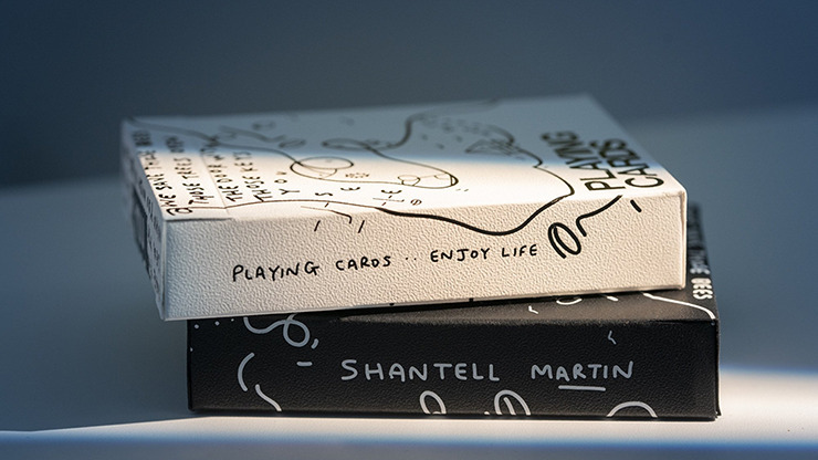 Shantell Martin (Black) Playing Cards by theory11