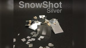 SnowShot SILVER (10 ct.) by Victor Voitko (Gimmick and Online Instructions)