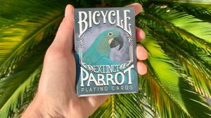 Bicycle Parrot Extinct Playing Cards