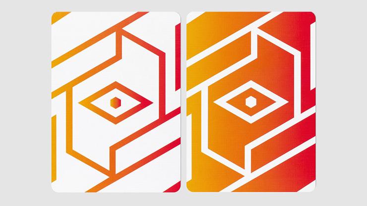 COPAG 310 Cardistry Alpha Orange Playing Cards