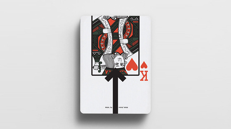 Offset Kaki Concept Playing Cards by Cardistry Touch